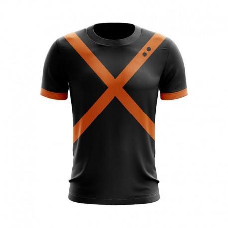 T Shirt Bakugo de combat